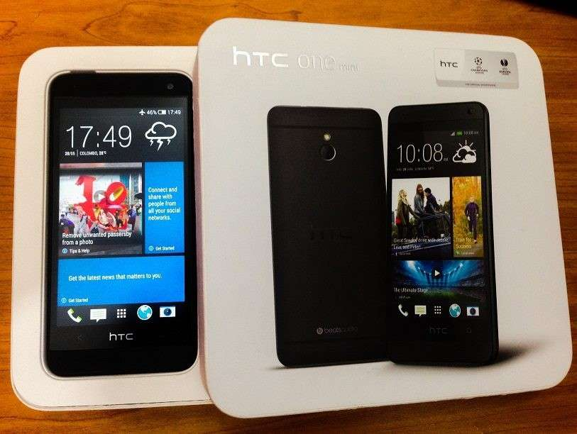 коробка поставки HTC One mini