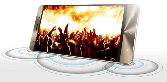 ASUS ZenFone 3 Deluxe звук