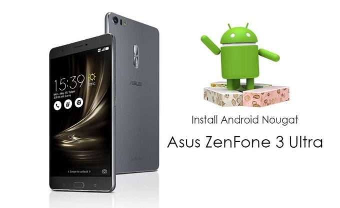 Android 6.0 ASUS ZenFone 3 Ultra