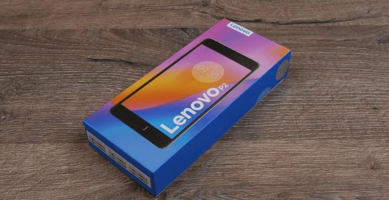 Lenovo Vibe P2 коробка