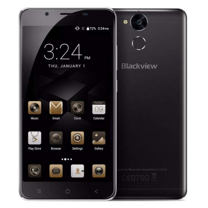 Blackview P2 внешний вид