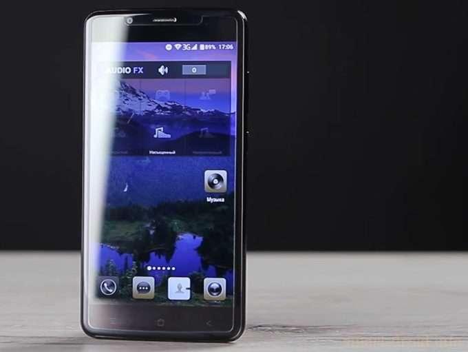 Blackview P2 дисплей