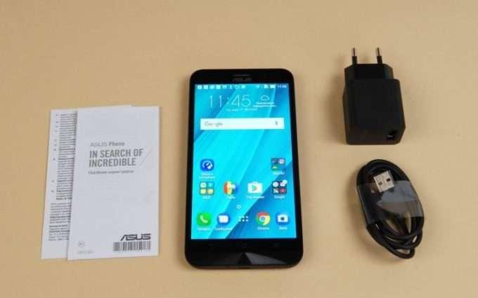 Asus ZenFone Go комплект поставки