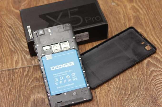упаковка Doogee X5 Pro