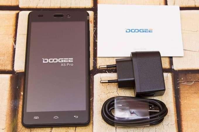 комплектация Doogee X5 Pro