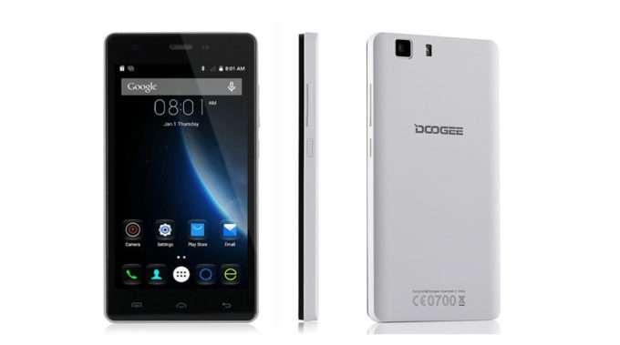 дизайн Doogee X5 Pro