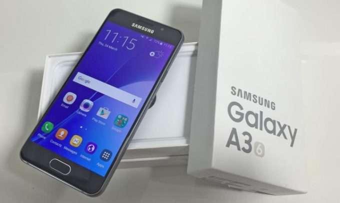 Коробка Samsung Galaxy A3 2016