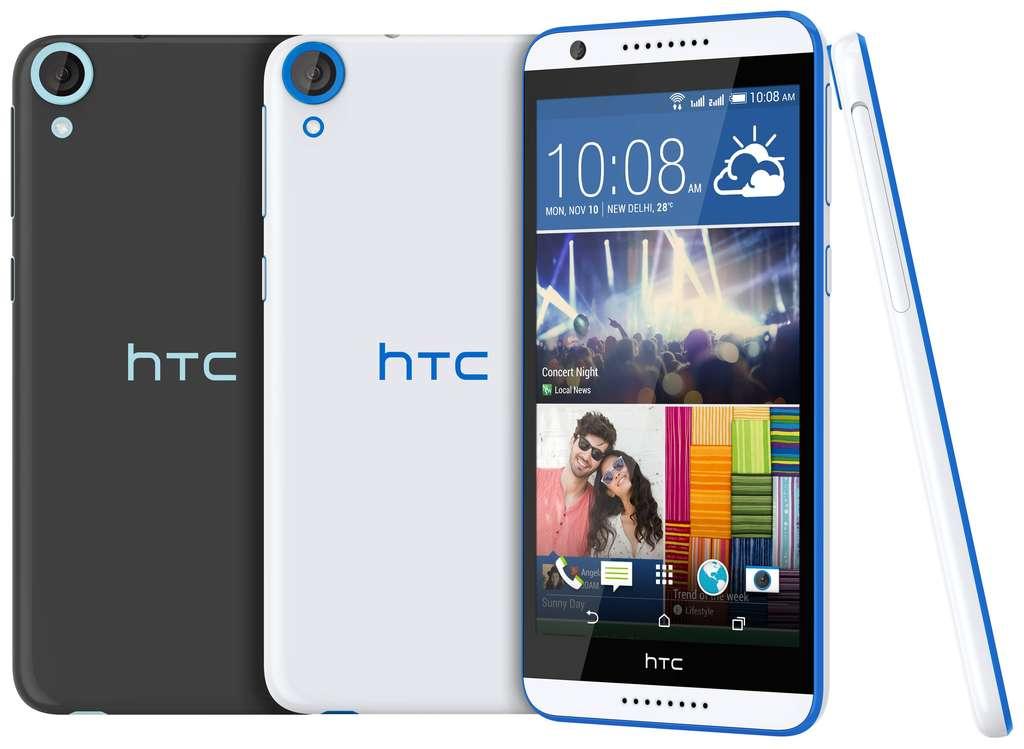 Дизайн HTC Desire 820