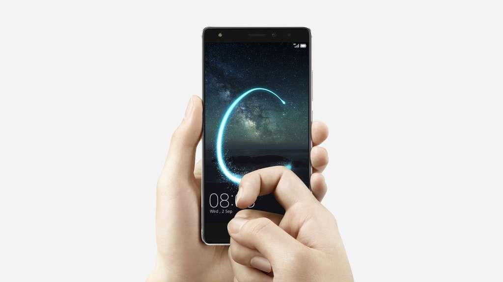 Huawei Mate S поддержка жестов