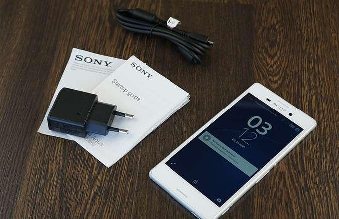 Комплектация Sony Xperia M4 Aqua