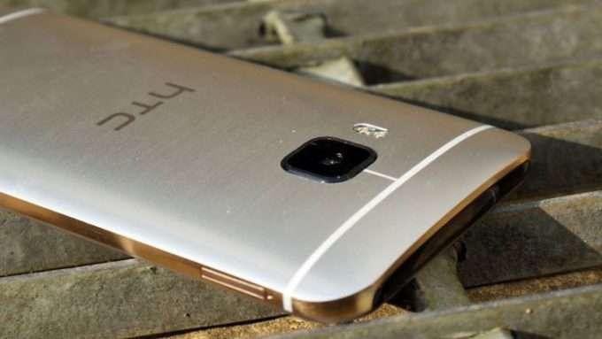 золотой цвет HTC One M9