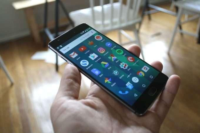 OnePlus 3 дисплей