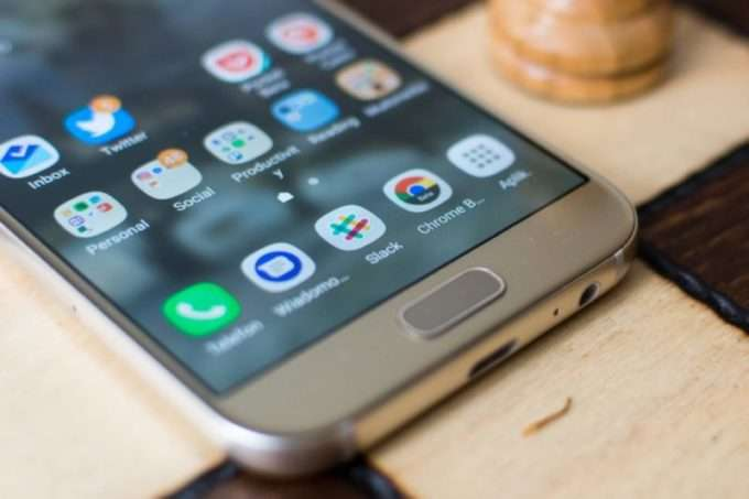 Кнопка Samsung Galaxy A5 2017