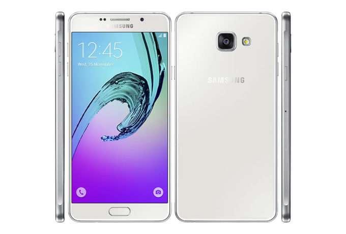 Samsung Galaxy A7 2016 дизайн