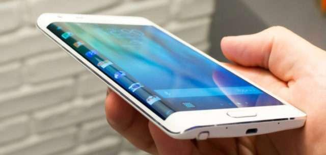 новый дизайн Samsung Galaxy Note Edge