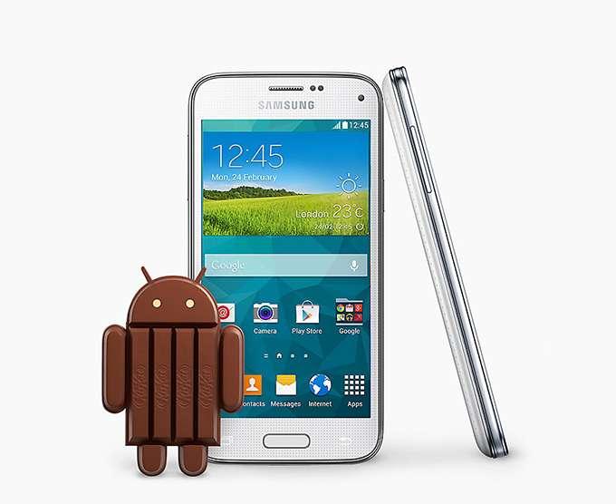 Samsung Galaxy S5 Mini Android KitKat