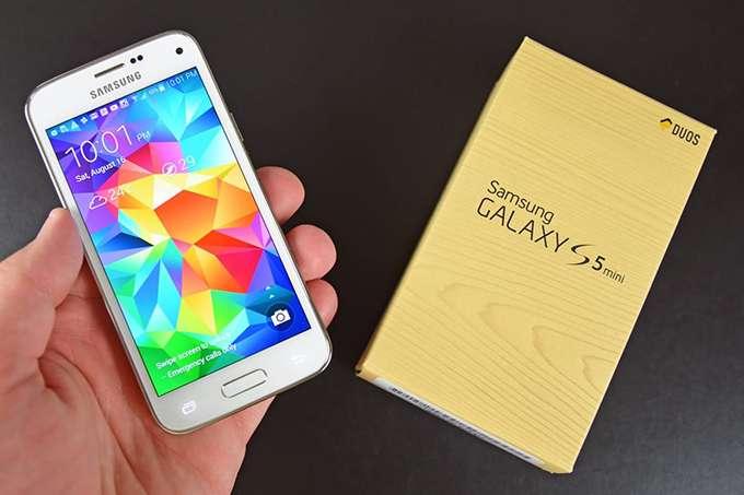 Samsung Galaxy S5 Mini коробка