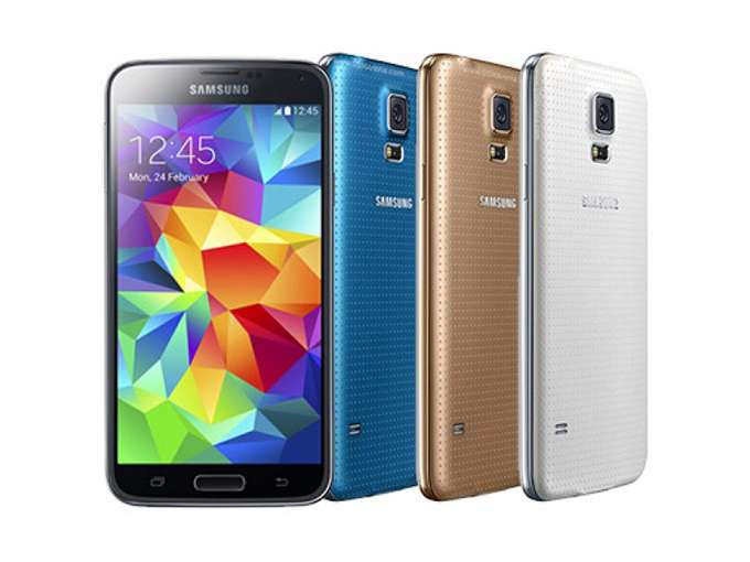 Samsung Galaxy S5 Mini цвет