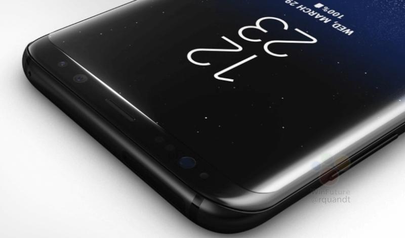 Samsung Galaxy S8 Plus фронтальная камера