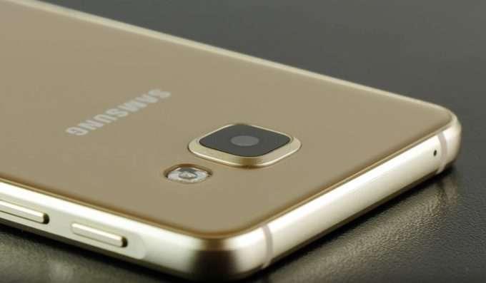 Основная камера Samsung Galaxy A3 2016