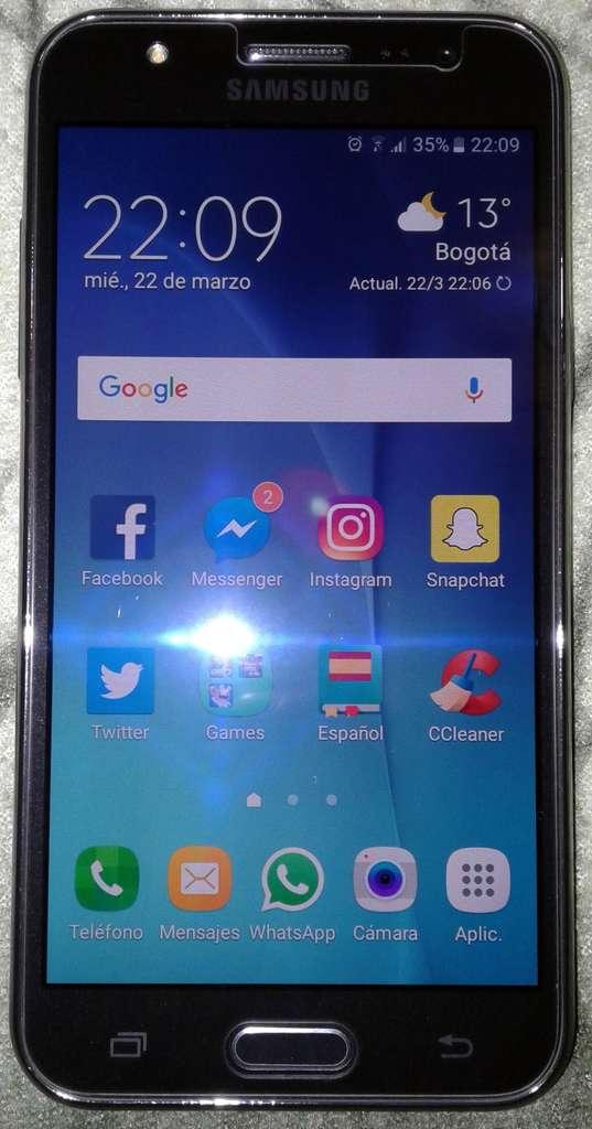 Samsung Galaxy J5 2016 интерфейс