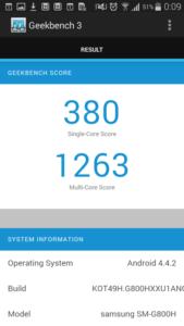 Samsung Galaxy S5 mini тест