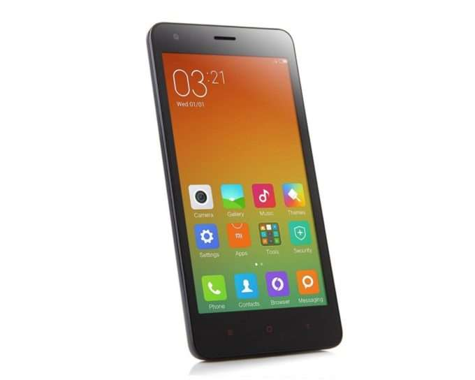 дизайн Xiaomi Redmi 2