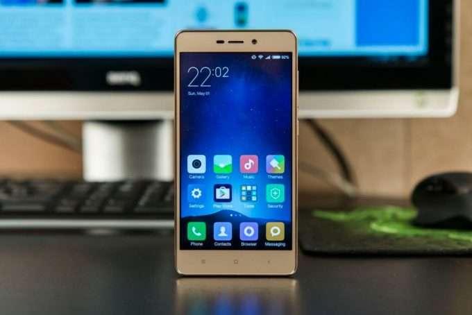 Xiaomi Redmi 3 Pro дисплей