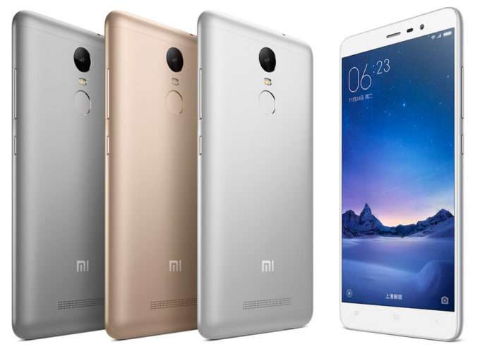 Xiaomi Redmi Note 3 цвета
