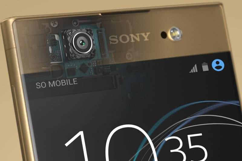 Sony Xperia XA1 Ultra фронтальная камера