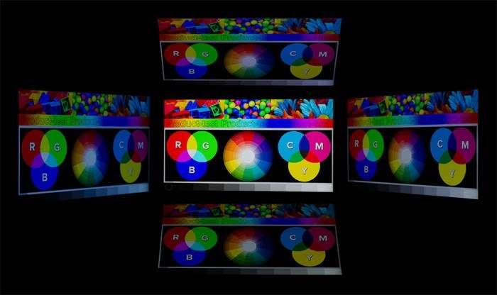 углы обзора Lenovo Vibe Z2