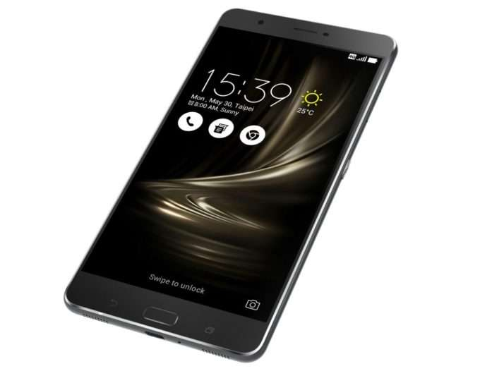 дизайн ASUS ZenFone 3 Ultra
