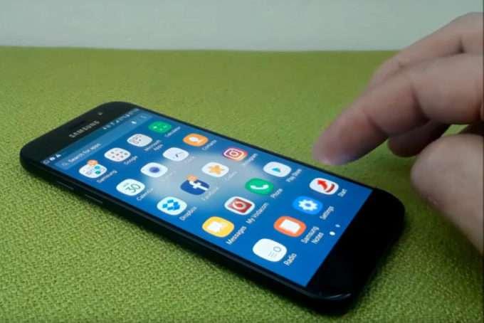 Samsung Galaxy A5 2017 дисплей