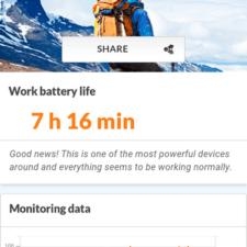 battery info Sony Xperia M4 Aqua