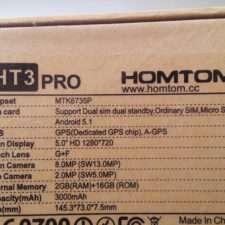Doogee HomTom HT3 Pro пример фото