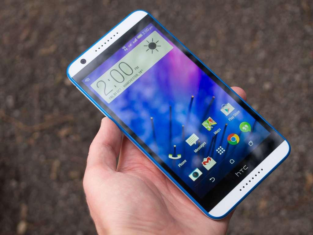 HTC Desire 820 экран