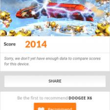 Тест 3DMark смартфона Doogee X6