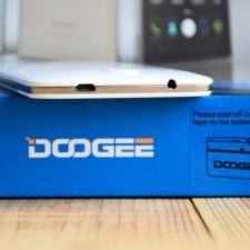Разъемы для зарядки и наушников Doogee X6