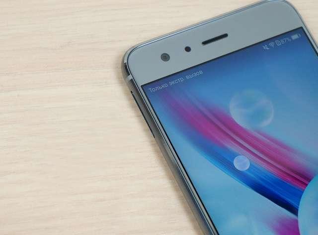 передняя панель Huawei Honor 9