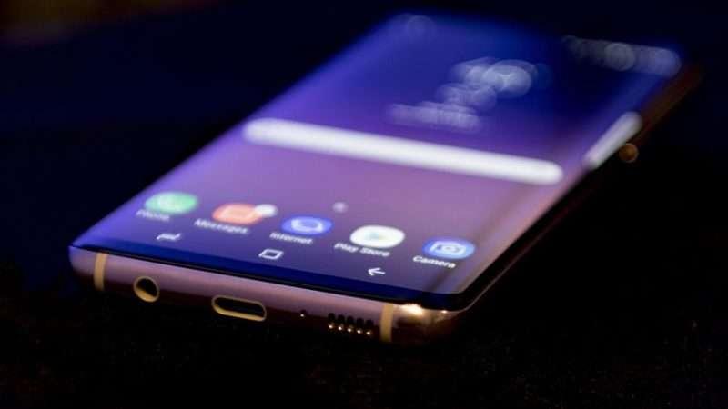Samsung Galaxy S8 Plus Динамик