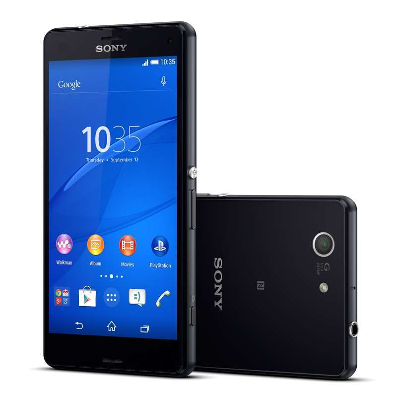 Sony Xperia Z3 Compact дизайн