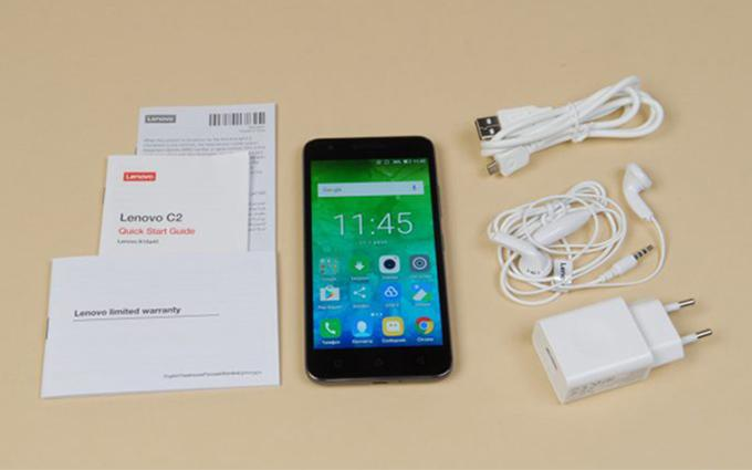 Комплектация смартфона Lenovo C2