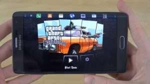 GTA на Samsung Galaxy Note Edge
