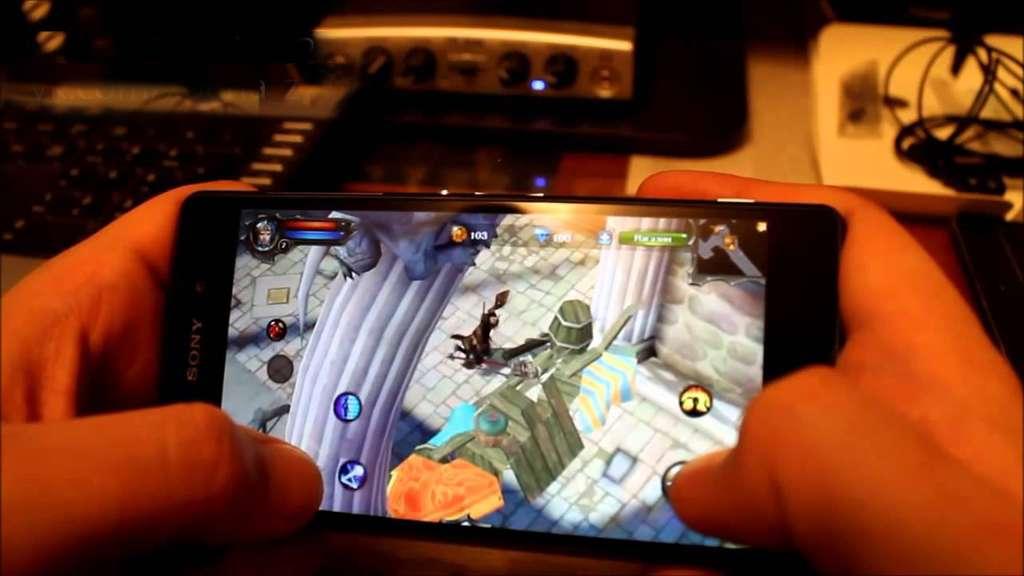 Sony Xperia Z2 игра