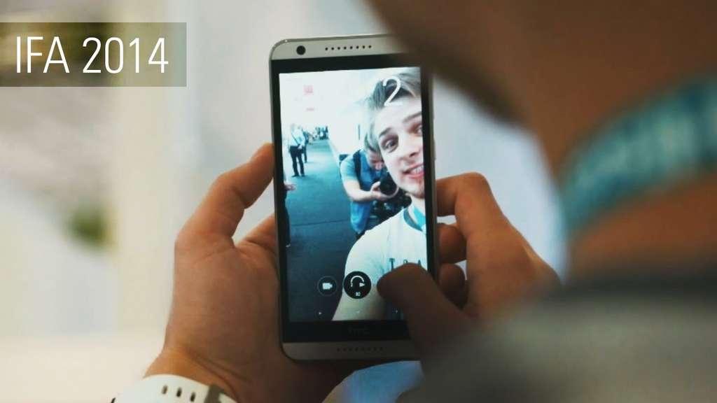 Фронтальная камера HTC Desire 820