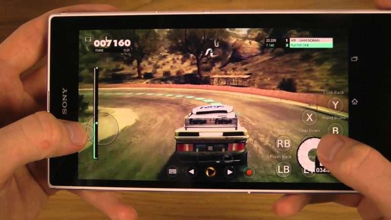 Sony Xperia Z Ultra игра