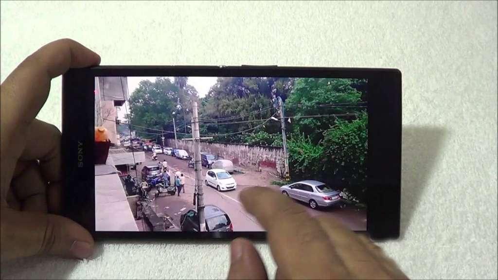 Sony Xperia Z Ultra пример фото