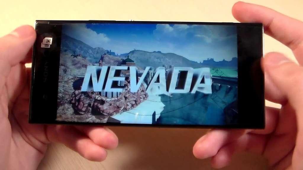 Игра на смартфоне Sony Xperia XA1 Plus