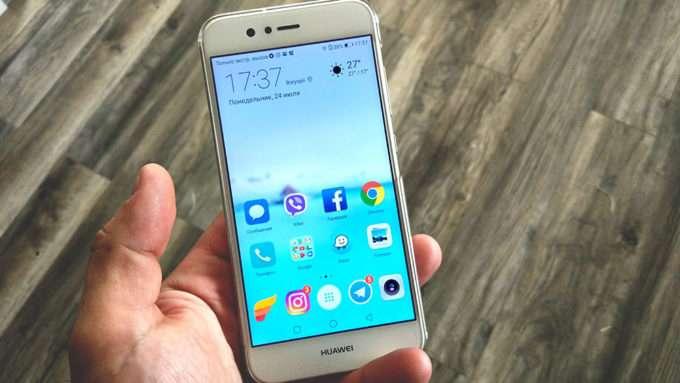 Huawei Nova 2 дисплей
