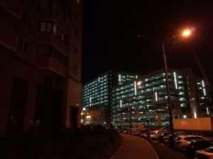 Huawei P10 Lite пример фото в ночное время